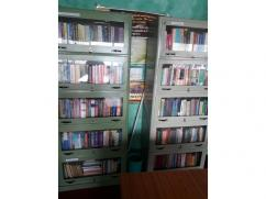 5 Compartment Grey colored galvanize finished Book Shelf