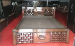 NEW DESIGNER DOUBLE BED WITH BOX