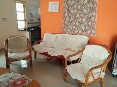Cane wood sofa set