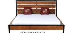 Rose wood Queen size Double Bed