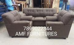 Brand new fabric sofa set