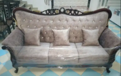 HEAVY ROYAL 7 SEATER SOFA