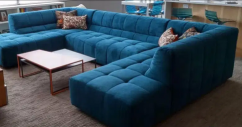Beautiful L shape sofa set