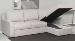 Cream Colour Sofa Cumbed