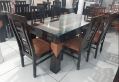 NEW HEAVY DINING TABLE