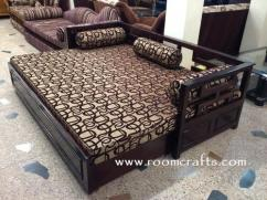 Brand New Sheesham Wood Double Bed