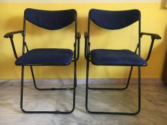 Foldable Study Table Chair Set