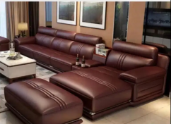 Brand new 7 Seater Leather sofa set