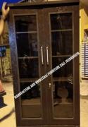 Glass door bookshelf 6.5by3 factory price