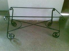 Wrought iron dinning table