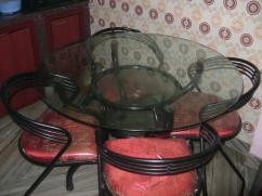 Wrought Iron Dinning & Center Table
