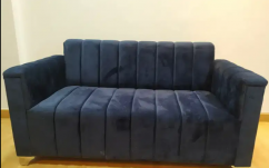 Dark Blue Strip Design 2 seater Sofa