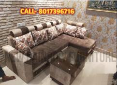L shape sofa set 6 seater