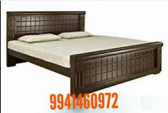 Wooden cot for sales