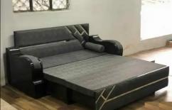 Sofa cum bed (wooden design)