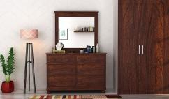 Solid wooden dressing table