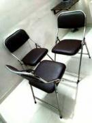 Three Steel foldable cushion chairs-3 - Mumbai