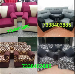 Brilliant look and design new sofa set.