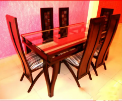 Full Luxurious Dining table set