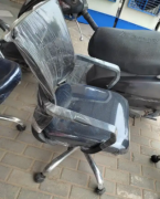Mesh back visitor chair. Strong and durable