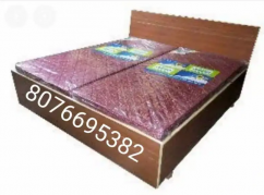 Heavy quality double bed box