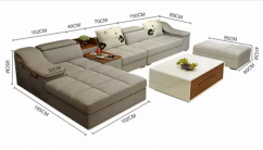 High density sofa set
