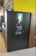 3 Door Wardrobe Without mirror