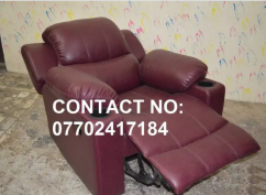 Brand New Recliner Sofa with comfort for working on Laptops