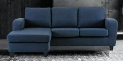 L Shape Sofa In Blue Colour