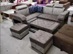 Arnold L shape sofa