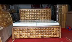 New designer double bed
