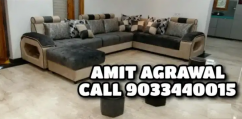 Atlanta gold model brand new sofa set
