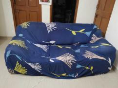 Fabric finish 3 seater sofa for sale