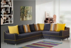 Update Look L shape sofa with 5 years of warranty
