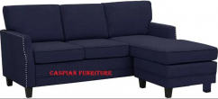 New Navy Blue L shape sofa