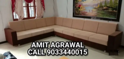 Square handle beautiful looking sofa set