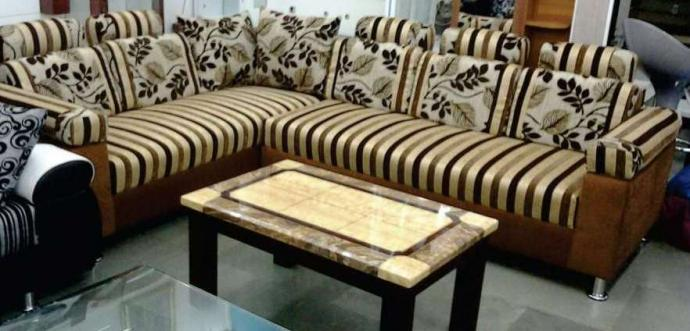 L Shaped Sofa At Affordable Price