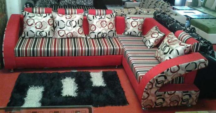 Executive comfortable sofa  set in Red Colour
