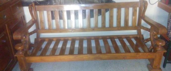 Surprising Wooden Teak Wood 4 Seater Sofa Set Forskolin Free Trial Chair Design Images Forskolin Free Trialorg