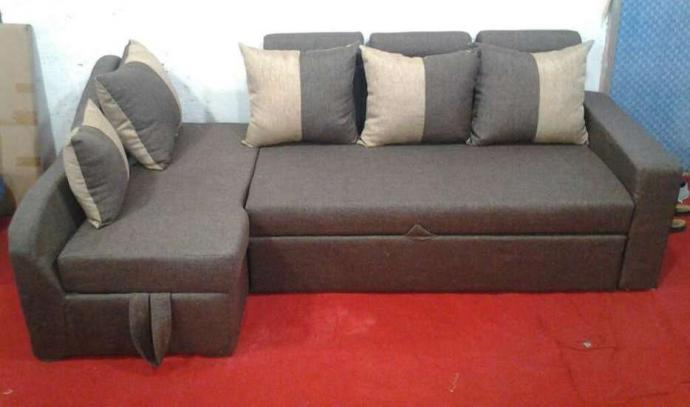Corner Sofa Cum Bed At Offer Price