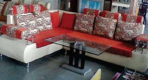Sofa Set With Steel Handle