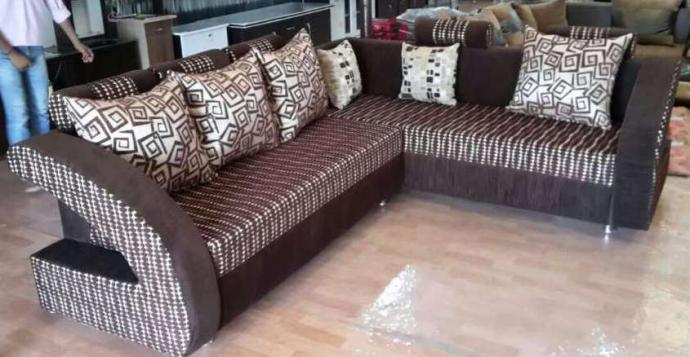 Brand New L Shaped Sofa Set Available In Latest Pattern Mumbai