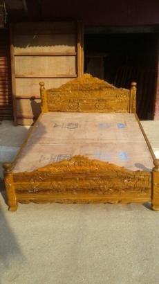 A Brand New Queen Size Original Teak Wood 9844501715 Free Delivery All Bangalore