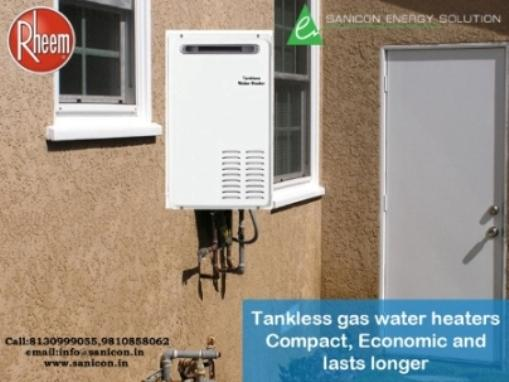 Tankless Gas Water Heaters - Compact, Economic and Lasts Longer..