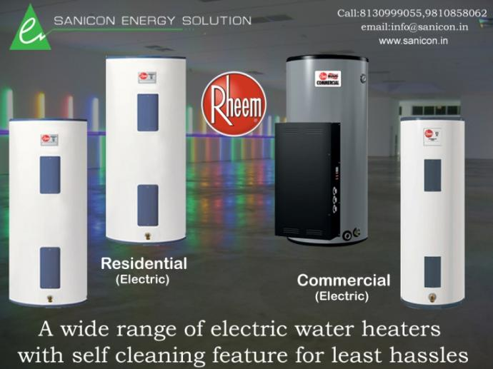 Electric Water Heaters With Self Cleaning