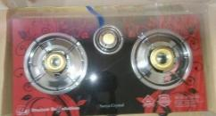 Branded Surya Gas Stove With 3 Burners