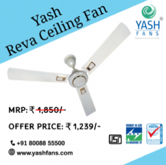 Best Ceilings Fans Brand in Hyderabad, India - Yash Fans Pvt. Ltd.