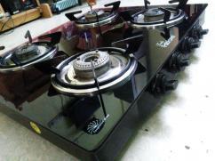 4 Burner glasstop Gas stove