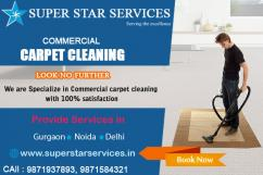 Get best Commercial carpets cleaning services in this navratri