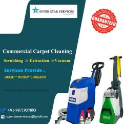 Commercial Carpet cleaning services in Gurgaon